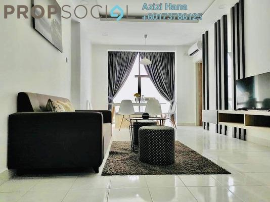 Condominium For Sale in Larkin Indah, Johor Bahru Freehold Unfurnished 3R/2B 250k