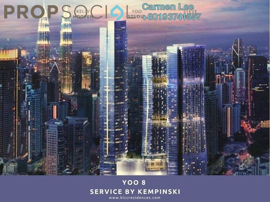 Condominium For Sale in YOO8 serviced by Kempinski @ 8 Conlay, KLCC Freehold Fully Furnished 1R/1B 2.42m