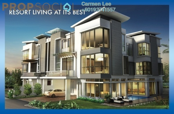 Semi-Detached For Sale in Tropicana Indah, Tropicana Leasehold Semi Furnished 6R/6B 4.6m