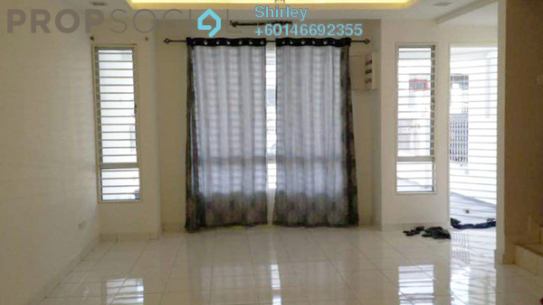Terrace For Rent in Mutiara Indah, Puchong Freehold Semi Furnished 4R/3B 1.5k