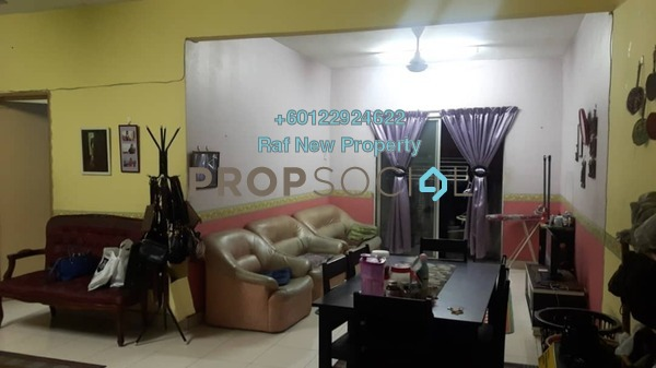 Apartment For Sale in Melur Apartment, Sentul Freehold Unfurnished 3R/2B 420k