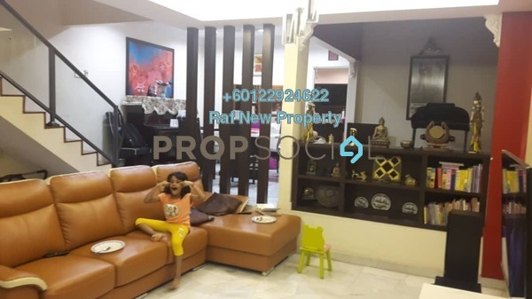 Terrace For Sale in Wangsa Baiduri, Subang Jaya Leasehold Semi Furnished 5R/3B 850k