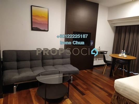 Condominium For Rent in Sunway Resort Suites, Bandar Sunway Freehold Fully Furnished 0R/1B 1.8k