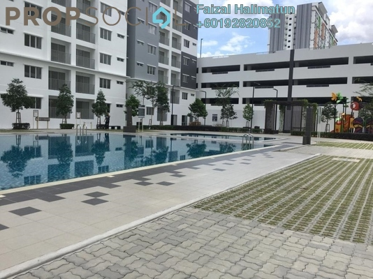 Condominium For Rent in Camellia Residence, Semenyih Freehold Unfurnished 3R/2B 800translationmissing:en.pricing.unit