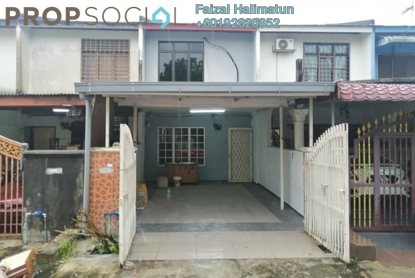 Terrace For Sale in Taman Ehsan, Kepong Freehold Semi Furnished 3R/2B 415k