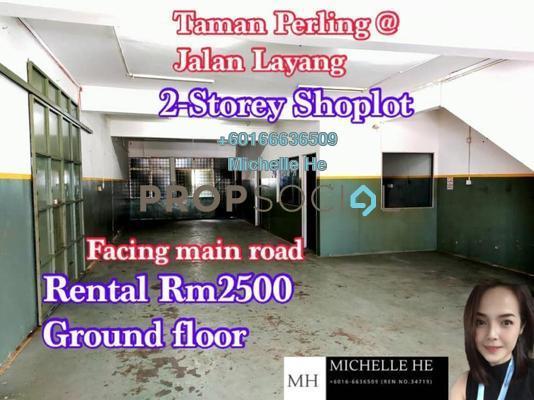 Shop For Rent in Taman Perling, Iskandar Puteri (Nusajaya) Freehold Unfurnished 0R/0B 2.5k
