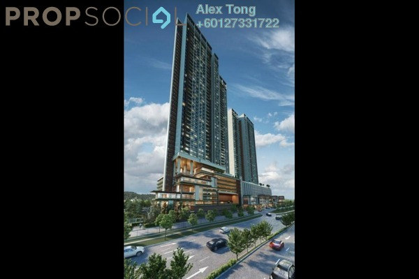 Condominium For Sale in The Pulse Residence, Bandar Puteri Puchong Freehold Semi Furnished 3R/2B 650k