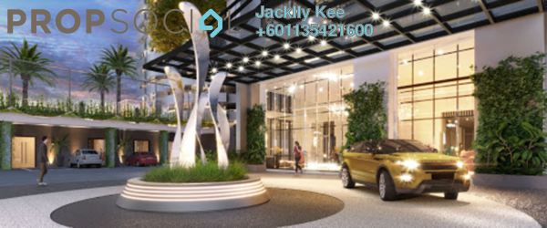 SoHo/Studio For Sale in The Suite, Kuala Lumpur Freehold Fully Furnished 1R/1B 215k