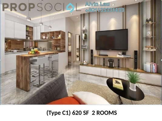 Condominium For Sale in Grand Ion Majestic, Genting Highlands Freehold Fully Furnished 2R/1B 700k
