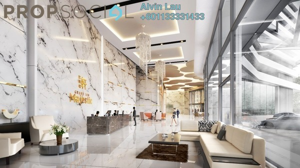 Serviced Residence For Sale in Grand Ion Majestic, Genting Highlands Freehold Fully Furnished 2R/1B 700k