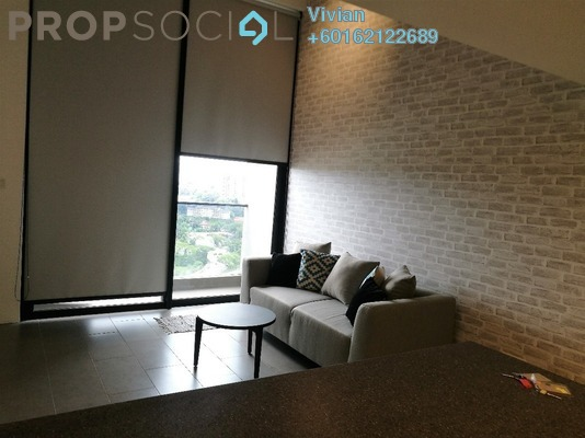 Condominium For Sale in The Establishment, Brickfields Freehold Fully Furnished 1R/1B 600k