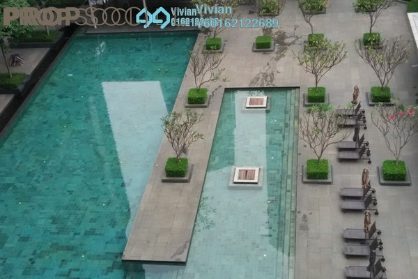 Duplex For Sale in Dua Residency, KLCC Freehold Semi Furnished 5R/5B 3.1m