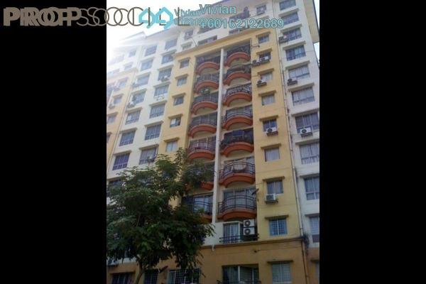 Condominium For Sale in Taman Abadi Indah, Taman Desa Freehold Semi Furnished 3R/2B 340k