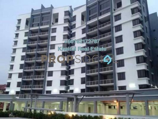 Condominium For Rent in Villa Laman Tasik, Bandar Sri Permaisuri Freehold Semi Furnished 3R/2B 1.7k