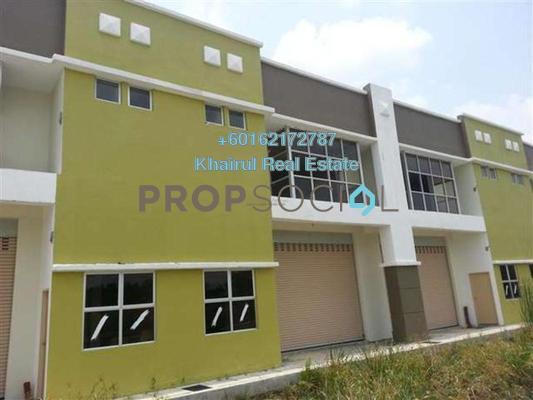 Factory For Rent in Bukit Kemuning Industrial Park, Kota Kemuning Freehold Unfurnished 0R/1B 3k