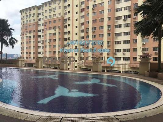 Apartment For Sale in Suria Kinrara, Bandar Kinrara Freehold Fully Furnished 3R/2B 210k