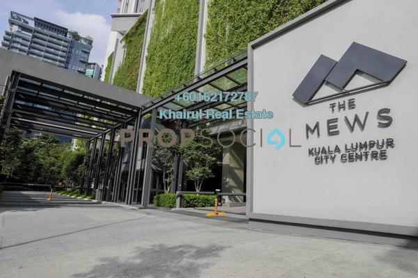 Serviced Residence For Rent in The Mews, KLCC Freehold Fully Furnished 1R/1B 4.2k