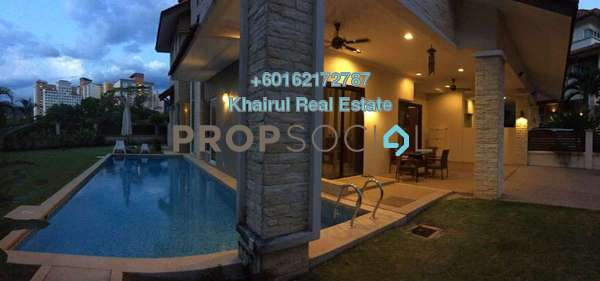 Semi-Detached For Sale in Beverly Heights, Ukay Leasehold Semi Furnished 6R/7B 2.8m