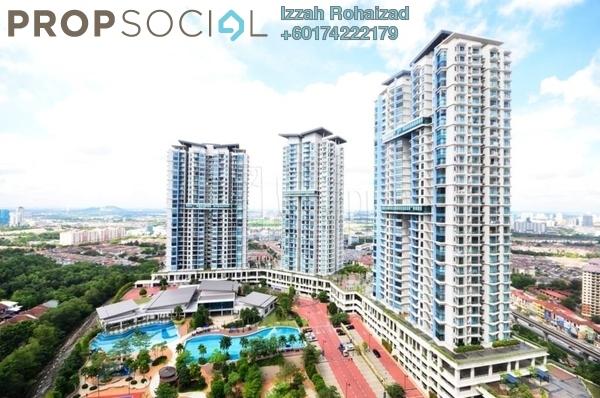 Condominium For Rent in Sky Condominium, Bandar Puchong Jaya Freehold Semi Furnished 2R/2B 2.1k