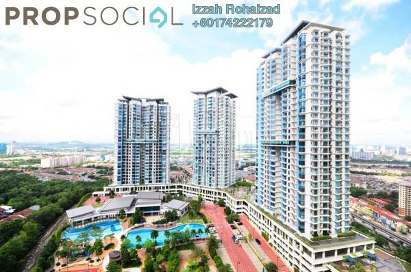 Condominium For Rent in Sky Condominium, Bandar Puchong Jaya Freehold Semi Furnished 3R/2B 2.3k