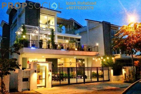Bungalow For Sale in Bukit Kemuning Industrial Park, Kota Kemuning Freehold Fully Furnished 6R/7B 1.7m
