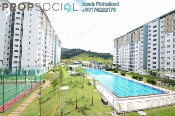 Apartment For Sale in Seri Baiduri, Setia Alam Freehold Unfurnished 3R/2B 320k