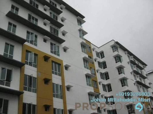 Serviced Residence For Sale in 162 Residency, Selayang Freehold Unfurnished 3R/2B 340k