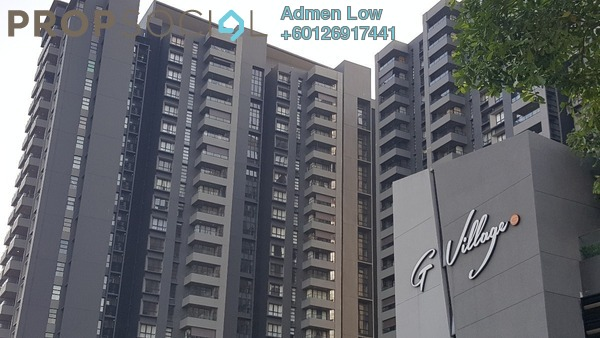 Serviced Residence For Rent in G Residence, Desa Pandan Freehold Fully Furnished 2R/2B 3k