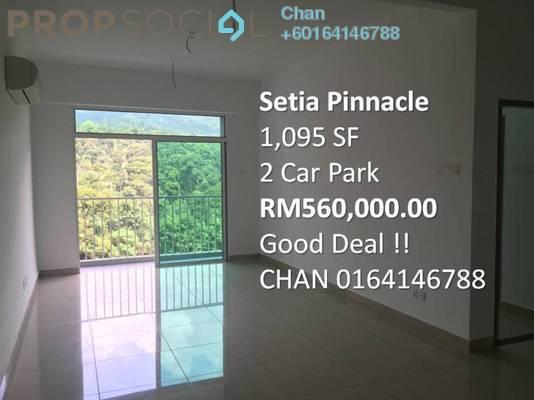 Condominium For Sale in Setia Pinnacle, Sungai Ara Freehold Unfurnished 3R/2B 560k