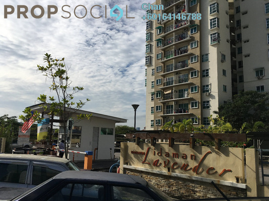 Apartment For Sale in Idaman Lavender, Sungai Ara Freehold Unfurnished 3R/2B 320k
