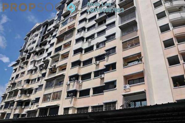 Apartment For Rent in Taman Bukit Jambul, Bukit Jambul Freehold Semi Furnished 3R/2B 900translationmissing:en.pricing.unit