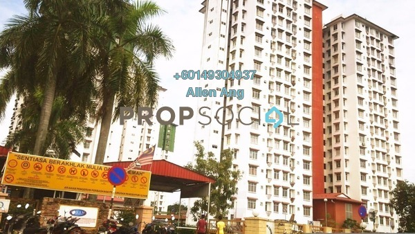 Apartment For Rent in Ilham Apartment, TTDI Jaya Leasehold Semi Furnished 3R/2B 950translationmissing:en.pricing.unit
