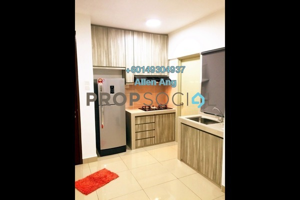 Condominium For Rent in Alam Sanjung, Shah Alam Freehold Semi Furnished 3R/2B 1.2k