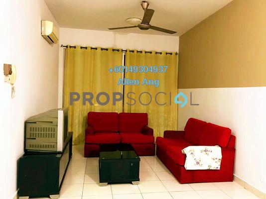 Condominium For Rent in Casa Tiara, Subang Jaya Freehold Fully Furnished 3R/2B 2k