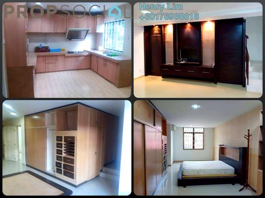 Terrace For Rent in Taman Bukit Segar, Cheras Freehold Semi Furnished 5R/4B 2.1k