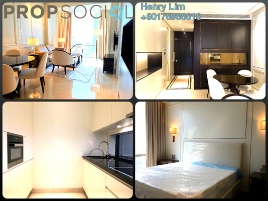 Serviced Residence For Rent in Pavilion Suites, Bukit Bintang Freehold Fully Furnished 1R/1B 4.5k