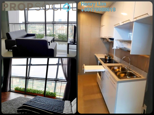 Condominium For Rent in The Fennel, Sentul Freehold Fully Furnished 3R/3B 2.9k