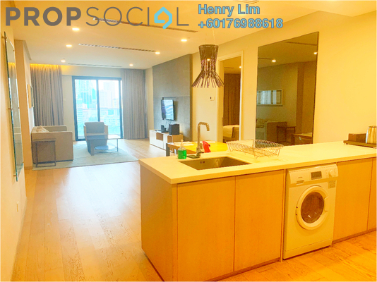 Serviced Residence For Rent in 188 Suites, KLCC Freehold Fully Furnished 1R/2B 3k