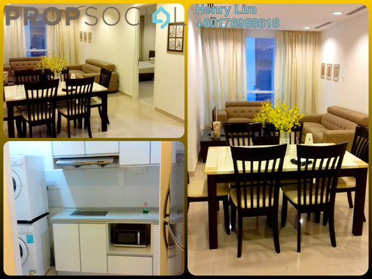 Serviced Residence For Rent in Binjai 8, KLCC Freehold Fully Furnished 1R/2B 3k