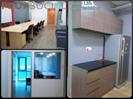 Office For Rent in Sunway Velocity Designer Office, Cheras Freehold Fully Furnished 0R/0B 3k