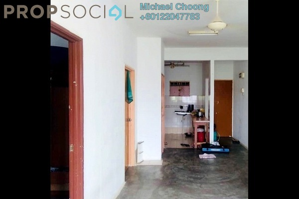 Apartment For Sale in Sri Dahlia Apartment, Bandar Puteri Puchong Freehold Unfurnished 3R/2B 155k