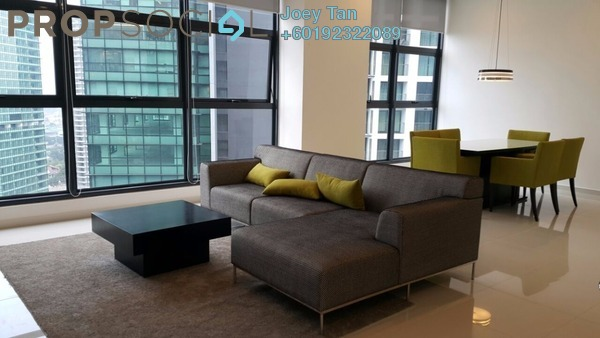 Condominium For Rent in Mirage Residence, KLCC Freehold Fully Furnished 3R/3B 5.8k