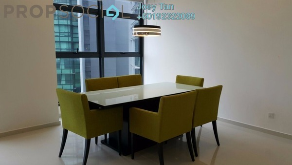 Condominium For Rent in Mirage Residence, KLCC Freehold Fully Furnished 3R/3B 6.8k