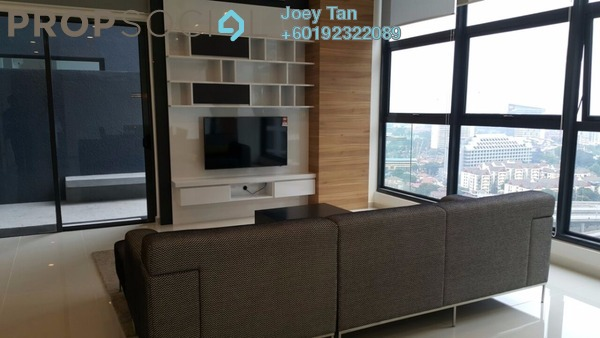 Condominium For Rent in Mirage Residence, KLCC Freehold Fully Furnished 3R/3B 7k