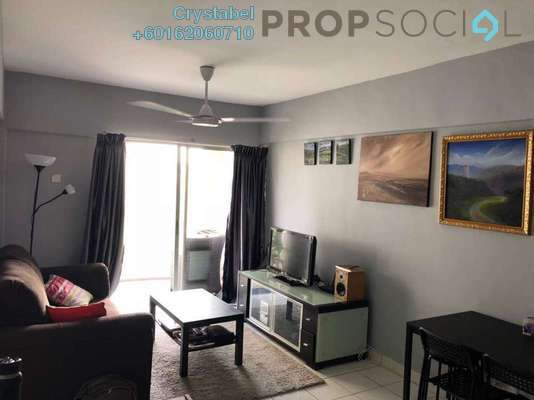 Apartment For Rent in Arena Green, Bukit Jalil Freehold Fully Furnished 2R/2B 1.3k