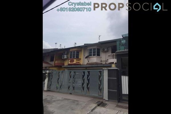 Terrace For Sale in Taman Jaya Baru, Cheras South Freehold Semi Furnished 3R/3B 650k