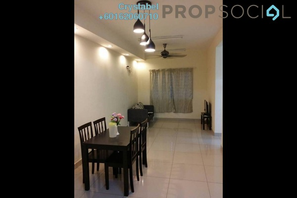Apartment For Rent in Putra Suria Residence, Bandar Sri Permaisuri Freehold Fully Furnished 3R/2B 1.65k