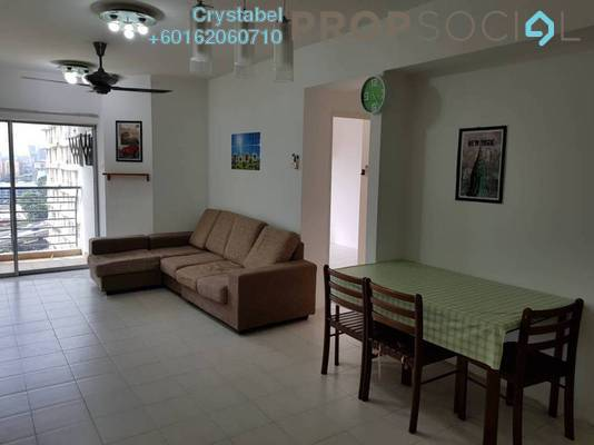 Condominium For Rent in Warisan Cityview, Cheras Freehold Fully Furnished 3R/2B 2.3k