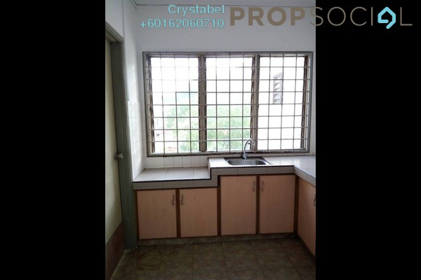 Apartment For Rent in Segar Apartments, Cheras Freehold Semi Furnished 3R/2B 1.1k