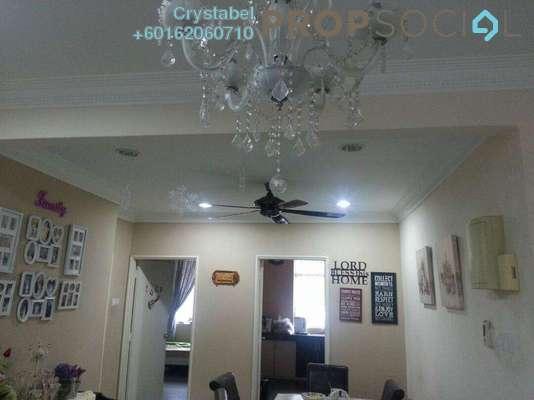 Condominium For Rent in Casa Ria, Cheras Freehold Semi Furnished 3R/2B 1.8k